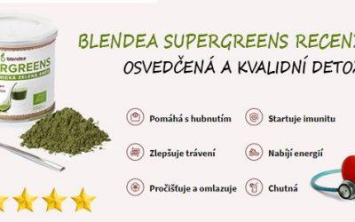 Blendea Supergreens pomůže snížit cholesterol a detoxikovat organismus