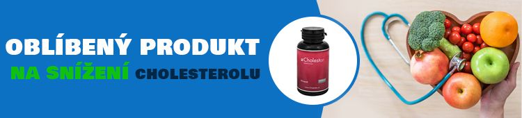 Oblíbený produkt na snížení cholesterolu - Cholesten